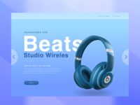Daily UI challenge #003 — A Landing Page