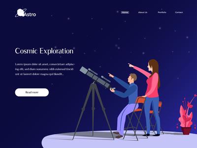 Illustration for Cosmic Exploration