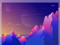 Mountains and Iceman