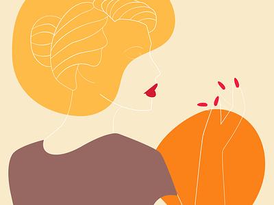 mood abstract colour palette design adobe illustrator illustration