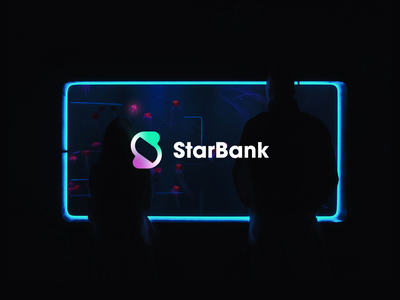 StarBank Branding banking modern service financial service cosmic pattern color startup business halo lab halo colorful branding