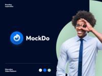 MockDo Branding identity logo logotype brand identity distance learning e-learning education pattern branding color startup business halo lab halo colorful