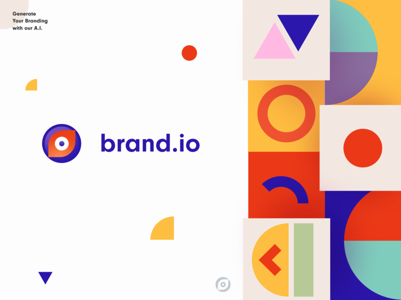 Branding AI artificial intelligence business brand creation brand development packaging brand sign startup halo lab identity design graphic brand logo design logotype logo print colorful ai identity brand identity branding