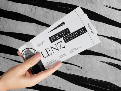 Lenz Photo Fest Branding tickets halo lab vintage photos entertainment culture memory cheerful fest photo packaging logotype logo brand sign branding identity brand identity