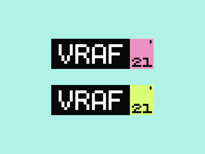 VRAF Fest esports logo typelogo personal logo dribble poster mockup gamer logo halo lab vr festival entertainment event fest packaging logotype logo brand sign branding identity brand identity