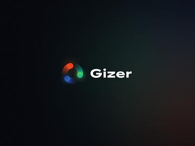 Gizer Branding printing brandbook identity design branding concept branding agency brand design logo design energy print brand sign halo lab identity logotype brand identity logo branding