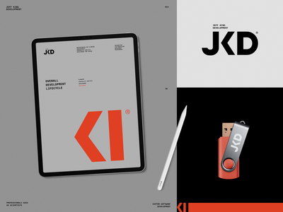 Jeff King Development code business card marketing promo software design poster poster packaging logotype logo brand sign branding identity brand identity