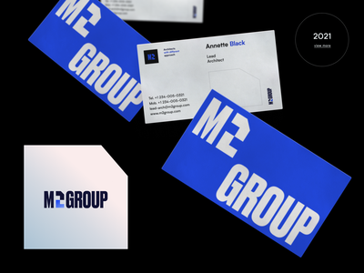M2 Group Branding logo design realestate group architecture architect halo lab brand book digital distance learning online educational packaging logotype logo brand sign branding identity brand identity