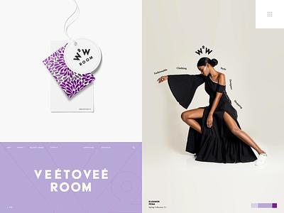 Vee to Vee Showroom Branding fashion brand logo design fashion showroom packaging brand sign halo lab identity logotype brand identity logo branding