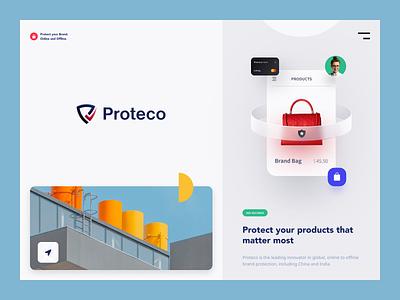 Proteco Branding brand sign brand identity identity packaging logotype logo branding