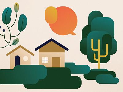 Ciclo de Debates | ONG Fase vector flat design colorful design illustration flat