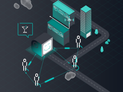HERE Location Trends Report - Trend Two loop vector illustration animation motiondesign motiongraphics isometric 3d mograph cinema4d