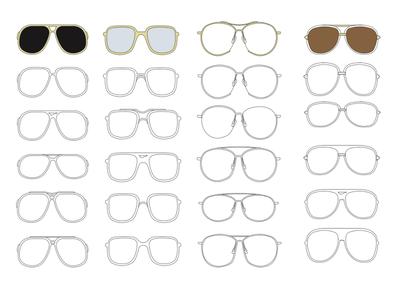Sunglasses CADS development