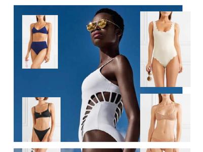 Swimwear trends research -moodboard