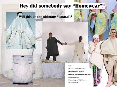 HOMEWEAR    Trend report