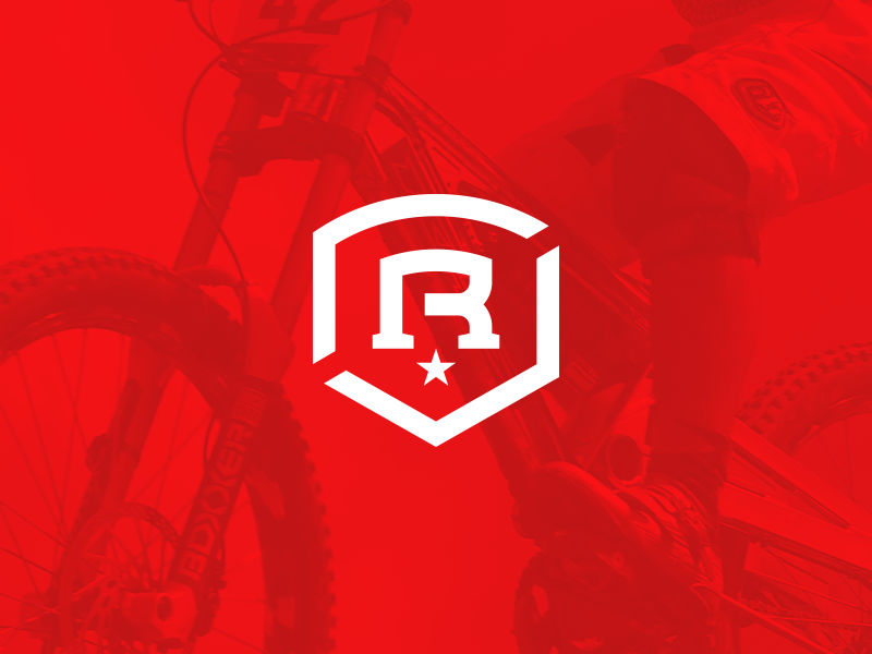 Race Corps Identity logo branding identity design badge crest monogram military sports race rinker biking