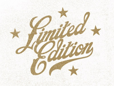 Limited Edition Stamp No. 2 vector stamp logo typography