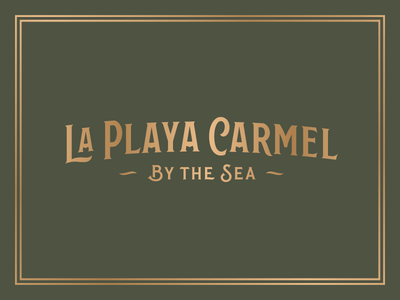 La Playa Carmel - Wordmark