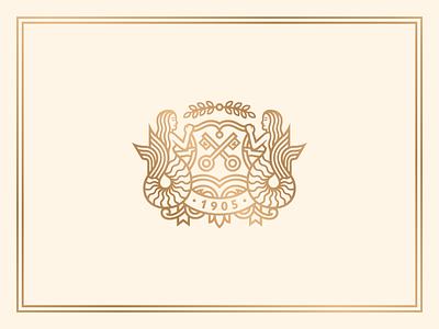 La Playa Carmel - Crest carmel art direction design lettering typography hotel branding identity logo rinker