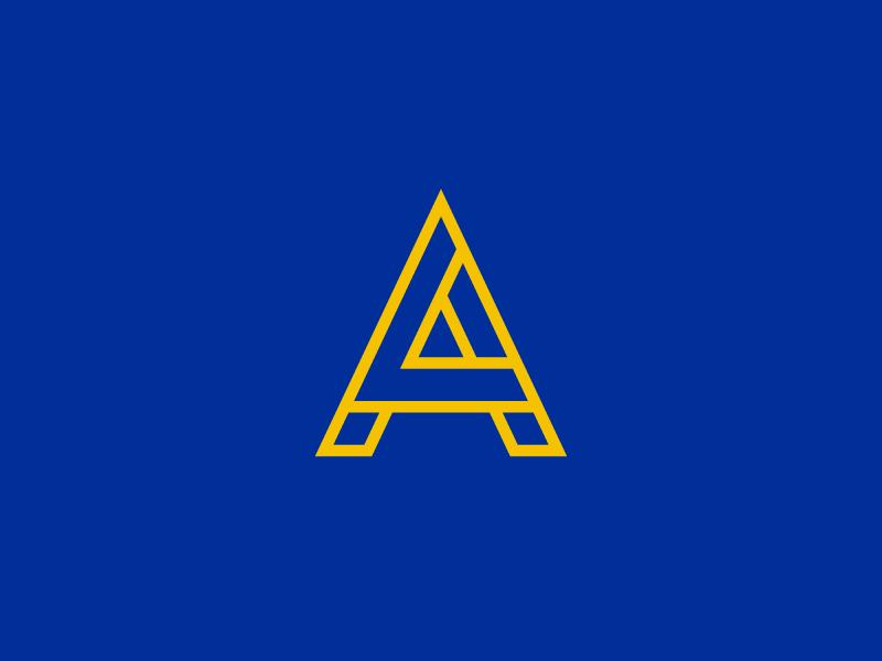 LA Rams - Monogram monogram mark badge rinker sports identity logo la rams los angeles