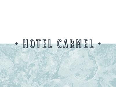 Hotel Carmel Identity - 1