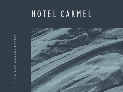 Hotel Carmel Identity - 2