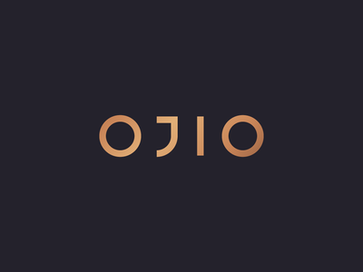 OJIO - Primary custom typography nutrition health mark food logo design packaging identity branding rinker