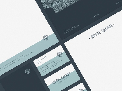 Hotel Carmel - Brand Collateral - 1