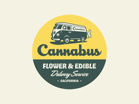 Cannabus Badge - Light