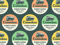 Cannabus Badge - Dark
