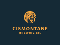 Cismontane Brewing Co. Identity