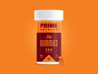 PRIME - Vita Gummies - CBD Ginger