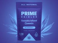 PRIME Edibles - Blueberry CBD