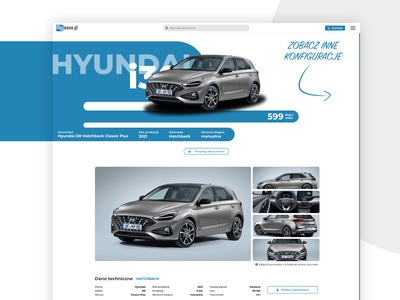 Mylease.pl | Website for a leasing company gatsby lesing car website ux uiux ui design