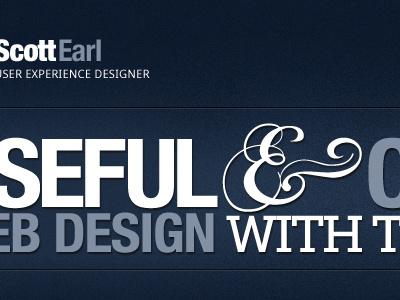 Personal Portfolio Redesign ui ux dark ampersand midnight redesign rookie debut portfolio