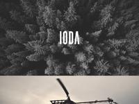 Ioda website design