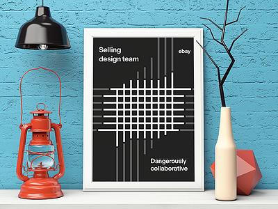 eBay Brand Posters graphic design ui tech color poster brand ebay