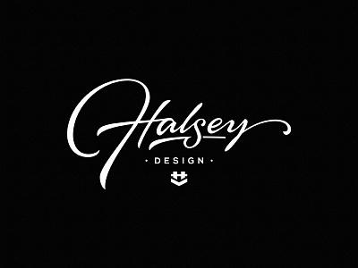 Halsey Design design dalibass logo typography logotype lettering custom hand-drawn