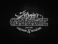 Ždrnja's Garage - Black & White