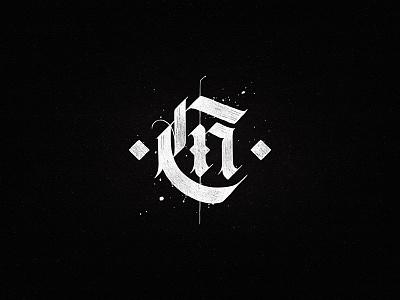 Cn wine logo dalibass typograhy vintage custom logotype typography monogram hand-drawn lettering