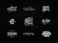 Lettering Logo Design Vol. 10