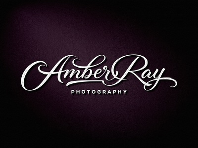 Amber Ray Photography ngs photography logo photographer photography team vintage sketch drawing dalibass logo typography logotype custom hand-drawn lettering