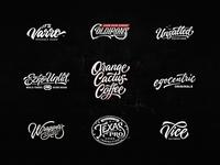 Lettering Logo Design Vol. 11