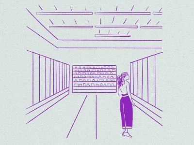 Grocery Store illustration design