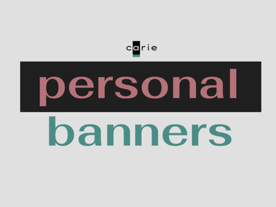 personal banners
