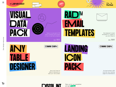 thePenTool - Fine Design Assets e-commerce mail template email template charts kit data visualization design tools homepage tiles assets asset