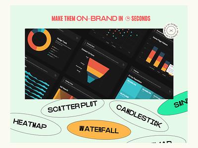 UI Charts Pack ui web thepentool variable font brutalism layout chart dashboard ui kit dashboard tags resource asset ui kit graphs data visualization dataviz charts