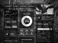 Every UI must look good in B&W!