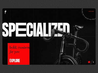 Specialized bike ride black and red noise black landing landing bicycle specialized bike