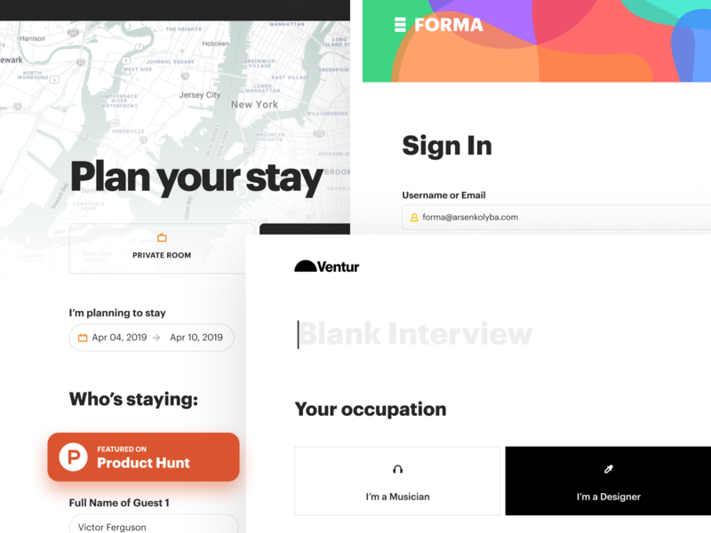 Forma figma ui kit form form constructor figma forms free ui kit forms ui kit